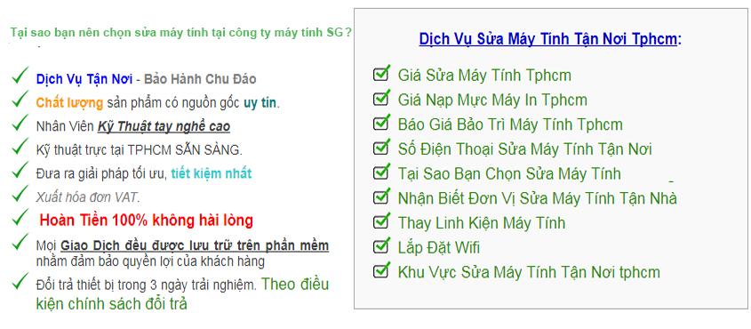 Sửa Máy Tính Ở Thuận An